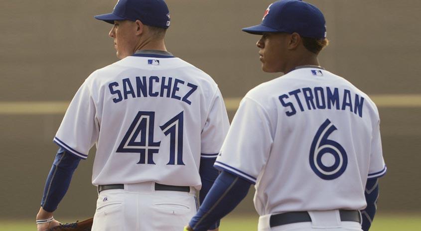 Aaron Sanchez & Marcus Stroman