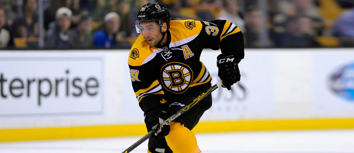 Patrice Bergeron Autograph Signing - A.J. Sports World