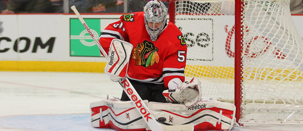 A.J. Sports Exclusive Private Signing - Corey Crawford