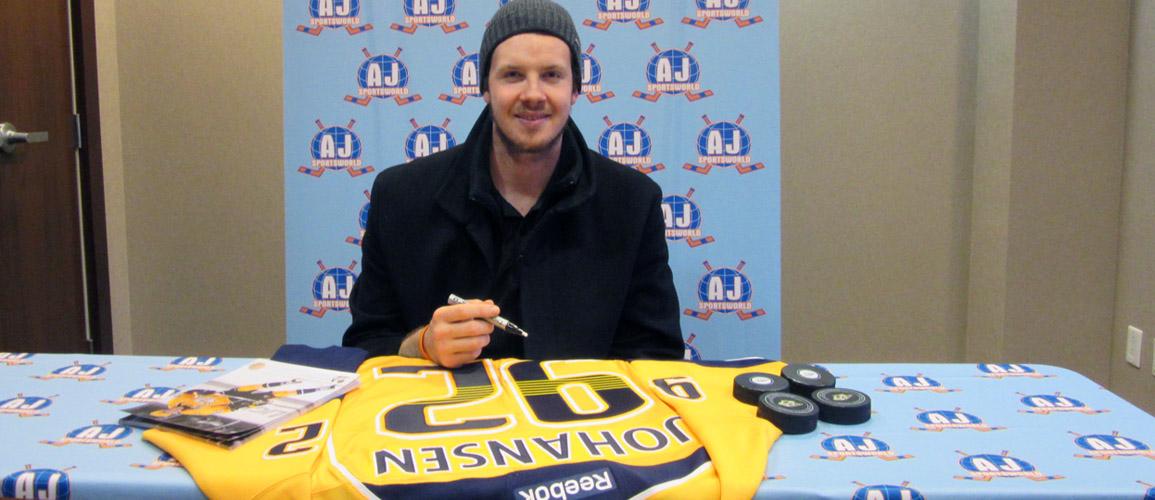 Ryan Johansen - A.J. Sports World Exclusive Athlete