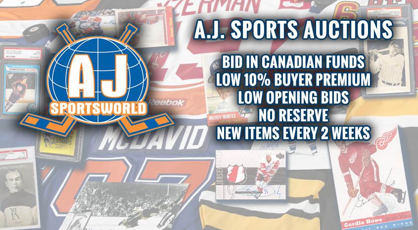 A.J. Sports World Auctions