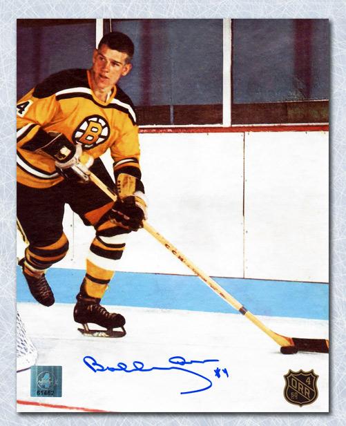 Bobby Orr 50th Rookie Anniversary