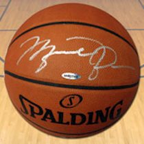 Signed Basketballs