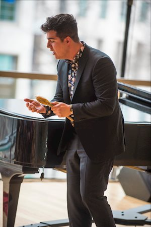 Jeremy Dutcher, photo: Chris Hutcheson
