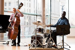 Mike Downes Trio, photo: Kevin Lloyd