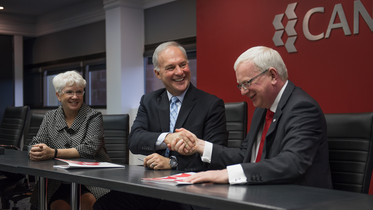 Canadore College Signs Pathway Agreements With Ireland S Limerick Institute Of Technology Canadore College