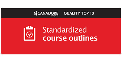 Standardized course outlines