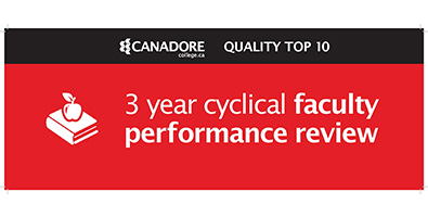 3 year cyclical faculty performance review