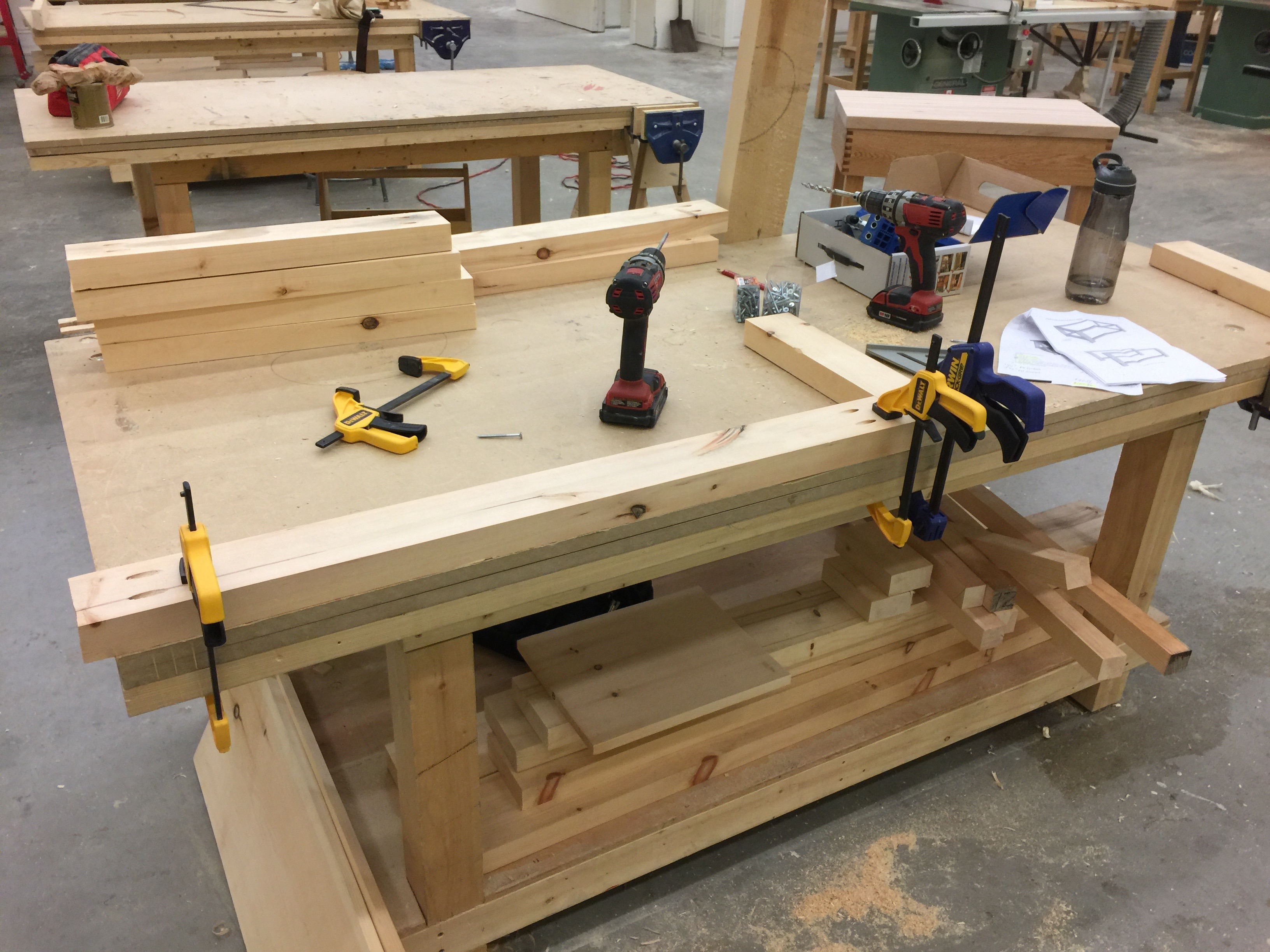 Adventures In Woodworking Coffee Table Canadore College