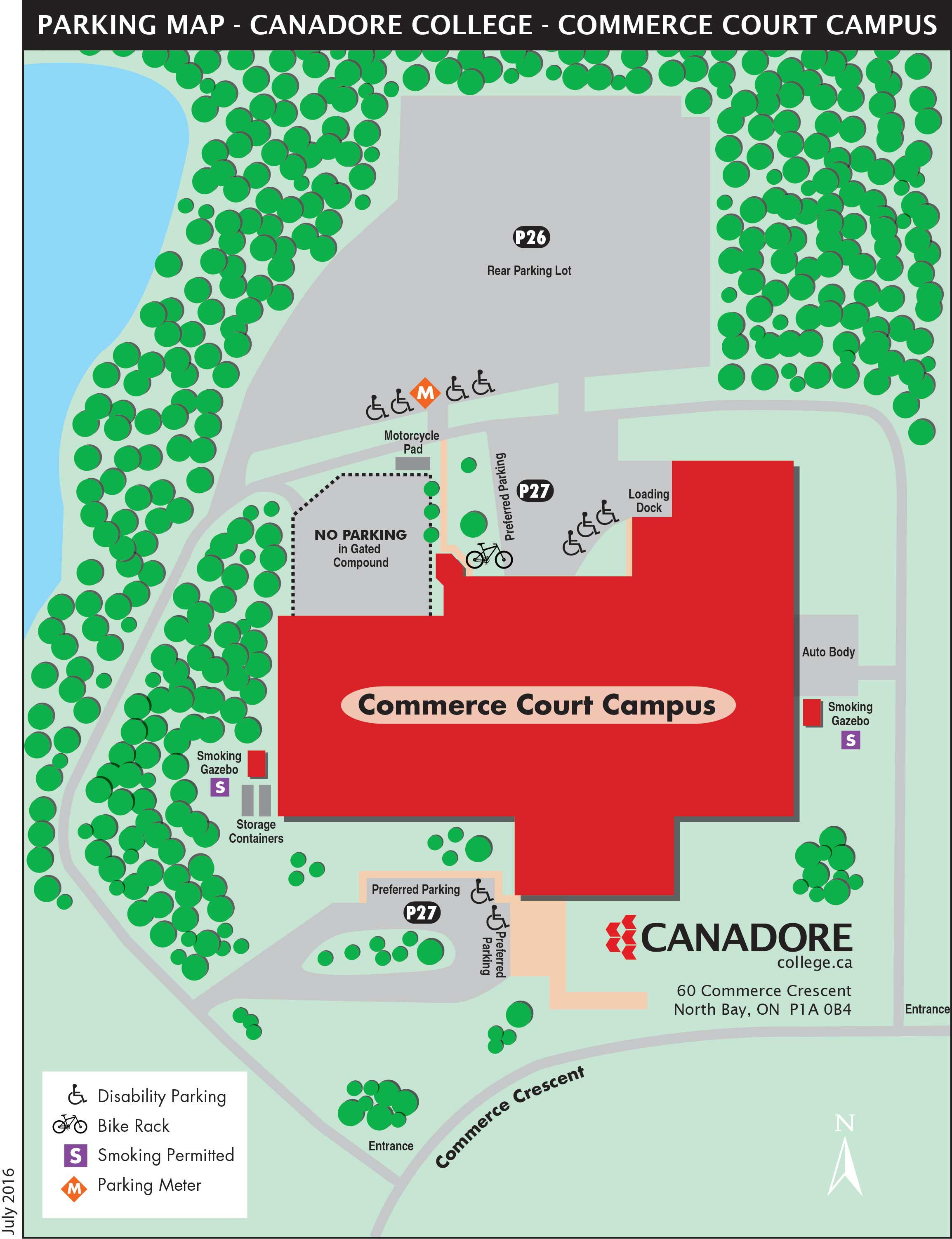 Parking Services Canadore College