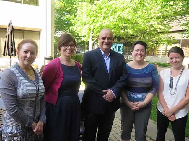teachers in a group photo
