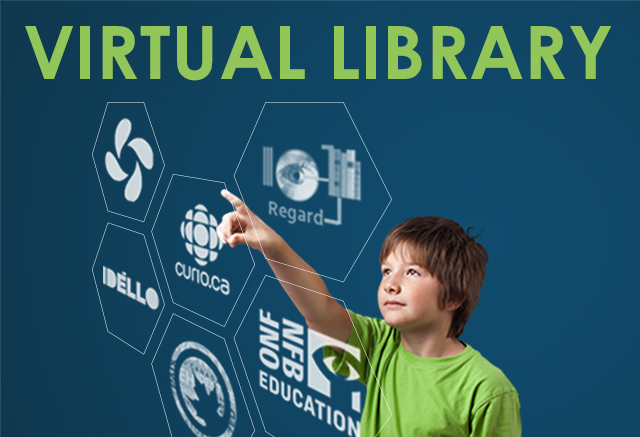 virtual library boy