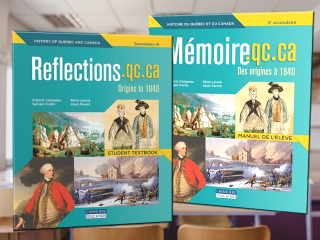 Quebec Secondary 3 History Textbooks