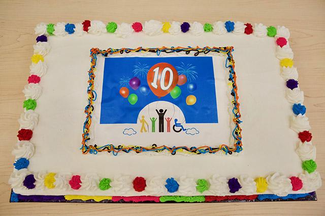 inspirations anniversary cake