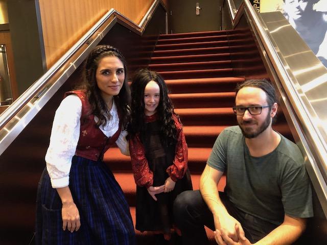 Michaela Di Cesare,  Alice Denton and Mathieu Murphy-Perron.