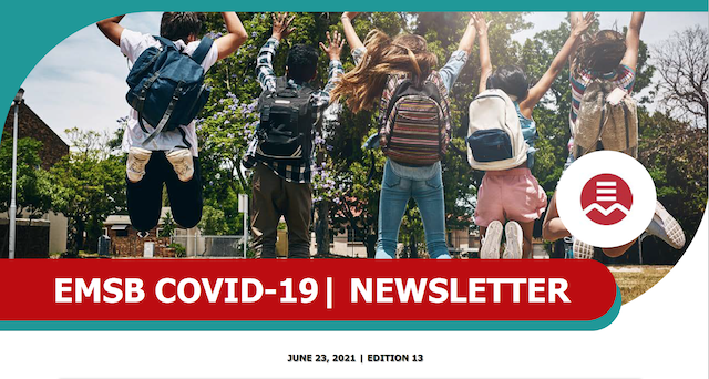parents newsletter cover