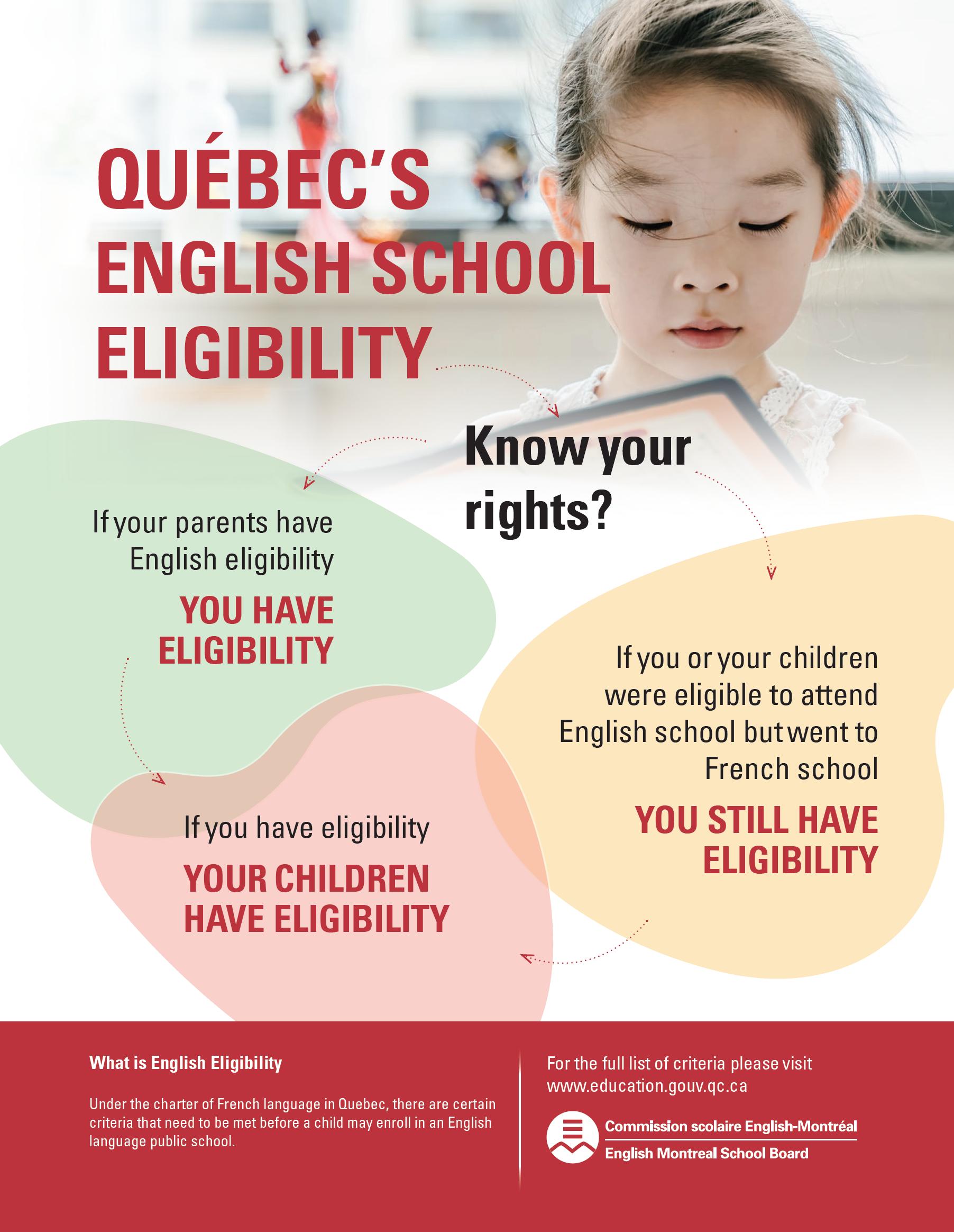 eligibility flyer