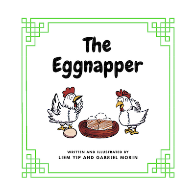 The Eggnapper book cover
