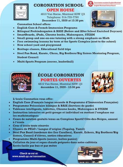 coronation flyer