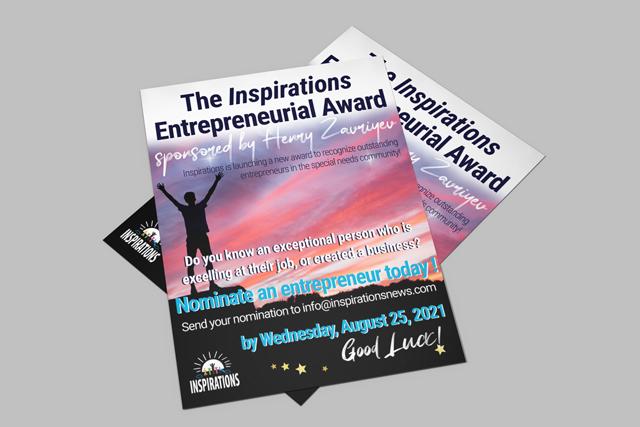 The Inspirations Entrepreneur Award sponsored by Henry Zavriyev