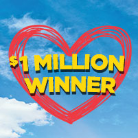 Grand Prize #1 at $1,000,000