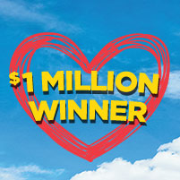 Grand Prize #2 at $1,000,000