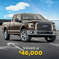 Grand Prize #5 valued at $46,000