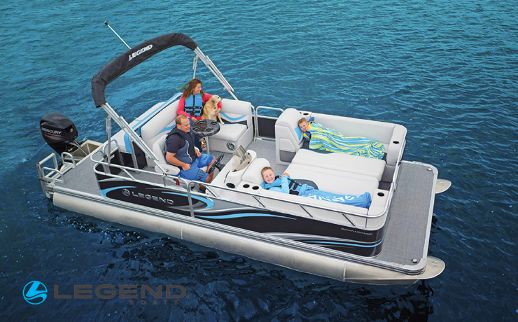 Win a legend Pontoon boat