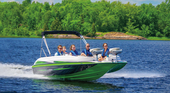 2019 Legend VIBE D20 Deck Boat
