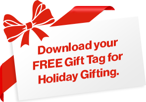 Download your FREE Gift Tag for Holiday Gifting
