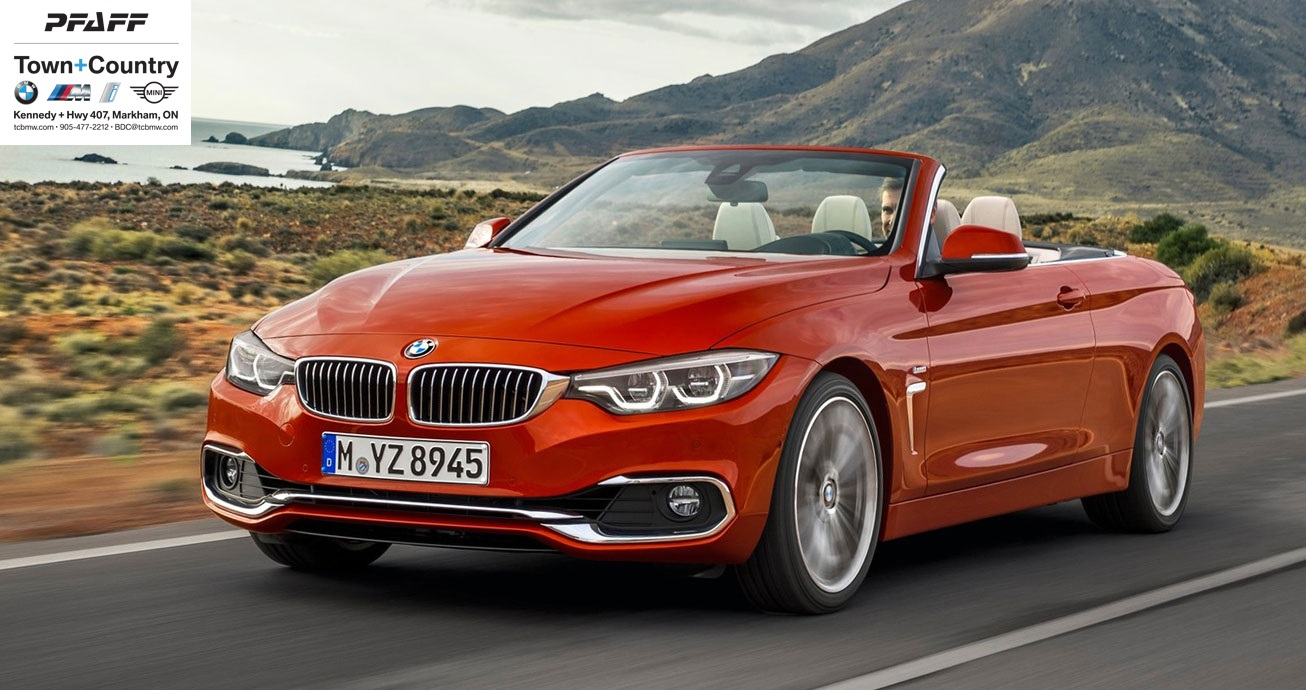 Win a Car: The 2018 BMW 440i xDrive Cabriolet