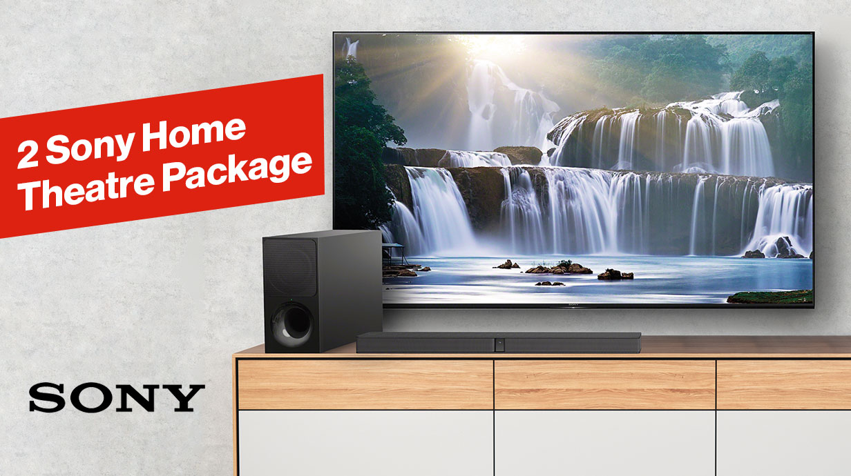 2 Sony Home Theatre Package