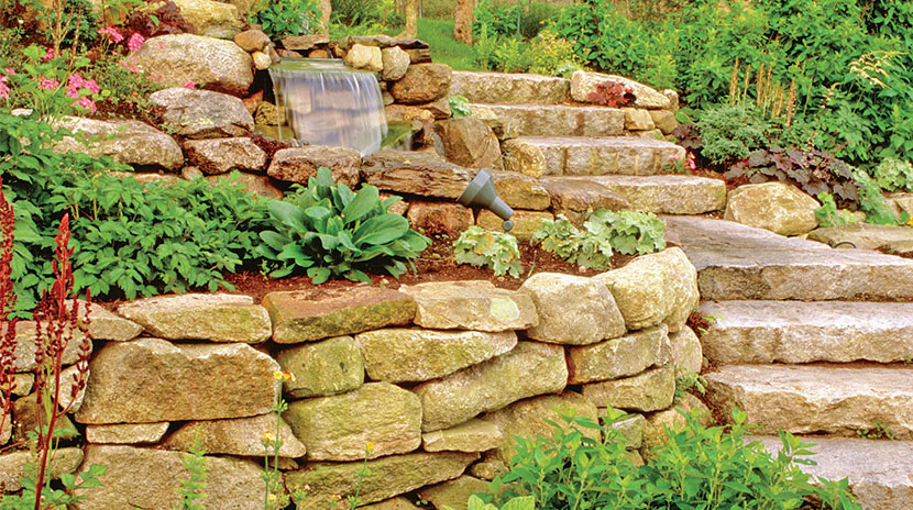 Building a Dry-Laid Stone Wall