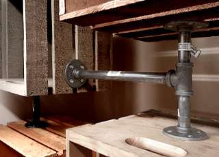 DIY Décor Using Pipes & Fittings