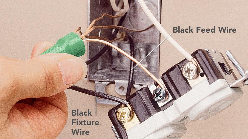 Wire stripper pigtail