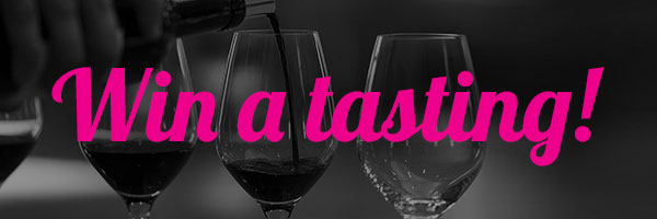Enter to win, a private wine tasting