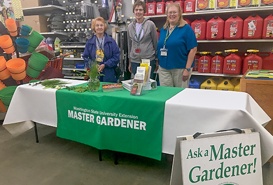 Master Gardeners at Renton McLendon Hardware