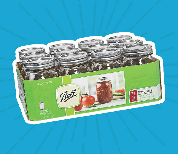 Ball® 12-Pack Pint Jars
