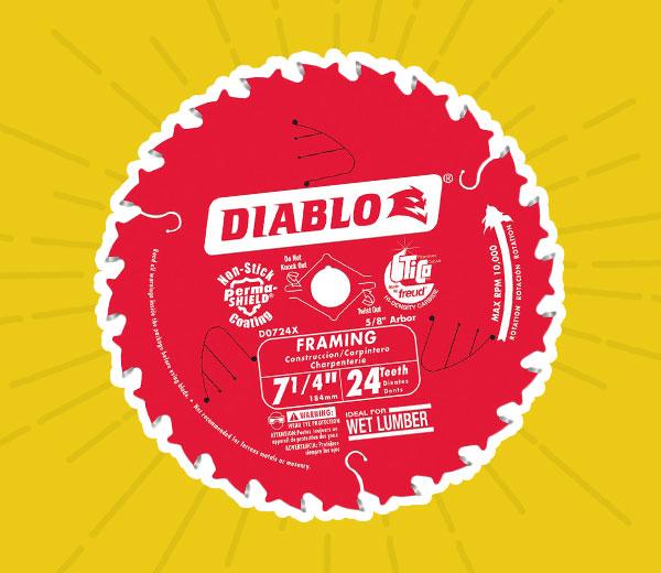Diablo® Framing Circular Blade