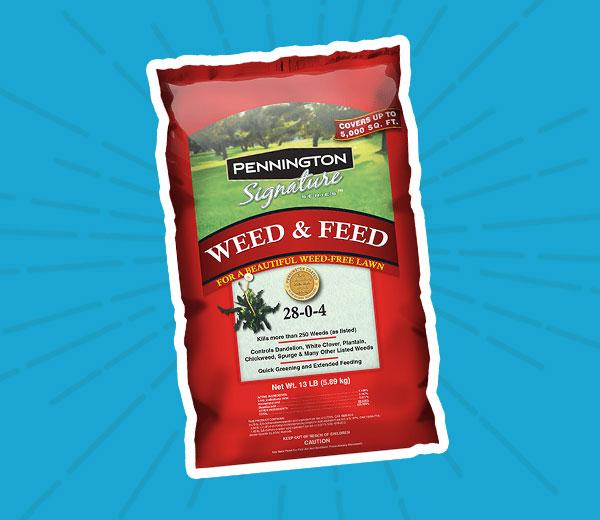 Pennington® Weed and Feed