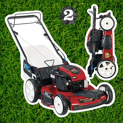 "Toro Recycler® 22"" SmartStow® gas push mower"