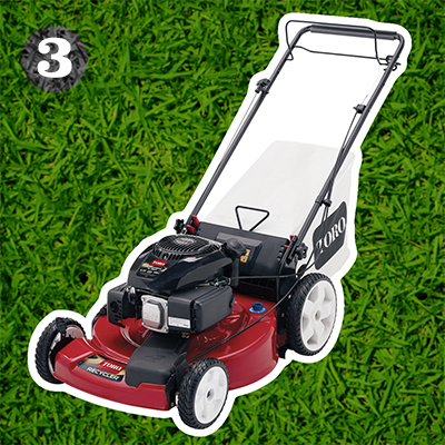 "Toro Recycler® 22"" gas push mower"