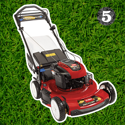 "Toro Recycler® 22"" Personal Pace® self-propelled gas push mower"