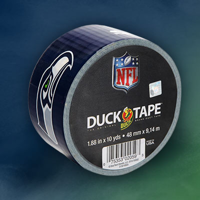 DUCK TAPE Seattle Seahawks 1.88-in. x 30-ft. Roll