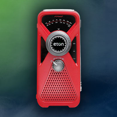 ETON FRX2 Hand Turbine/Solar AM/FM Weather Radio