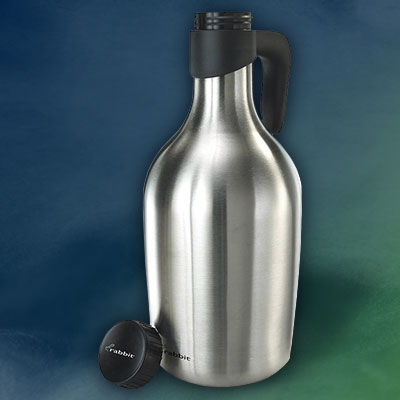 RABBIT Stainless Steel 64-oz. Growler