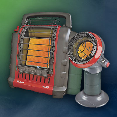 MR. HEATER Little Buddy & Portable Buddy Propane Infrared Heaters