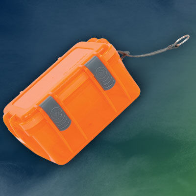 OUTDOOR PRODUCTS Watertight Transparent Poly Containers
