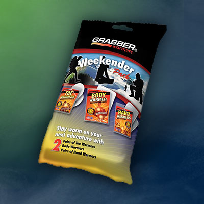 GRABBER Air-Activated Warmer Packets