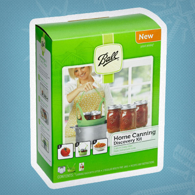 Preserve the season with a Ball® Home Canning Discovery Kit